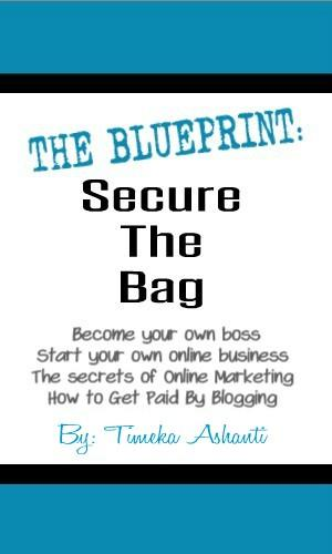 The Blueprint: Secure The Bag eBook package (this package includes 3 ebooks)