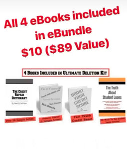 The CR Dictionary Ultimate Deletion eBundle (4 eBOOKS Included)