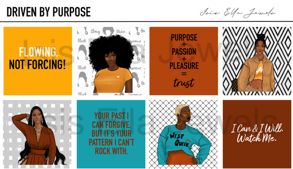 Driven By Purpose Journal Meme