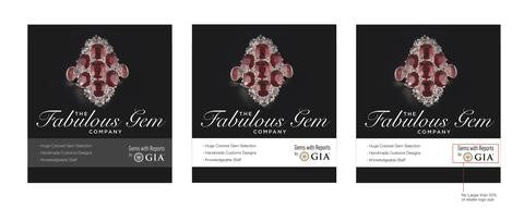 Acceptable Print Reference for GIA Retailer Logo Lock-up