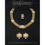 Cover of Gems & Gemology Winter 1992 issue, featuring gold jewelry