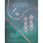 Cover of Gems & Gemology Fall 2005 issue, featuring silver earrings and other jewelry