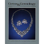 Cover of Gems & Gemology Summer 1989 issue, featuring silver jewelry