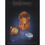 Cover of Gems & Gemology Spring 1992 issue, featuring opals and opal held by intricate metal piece