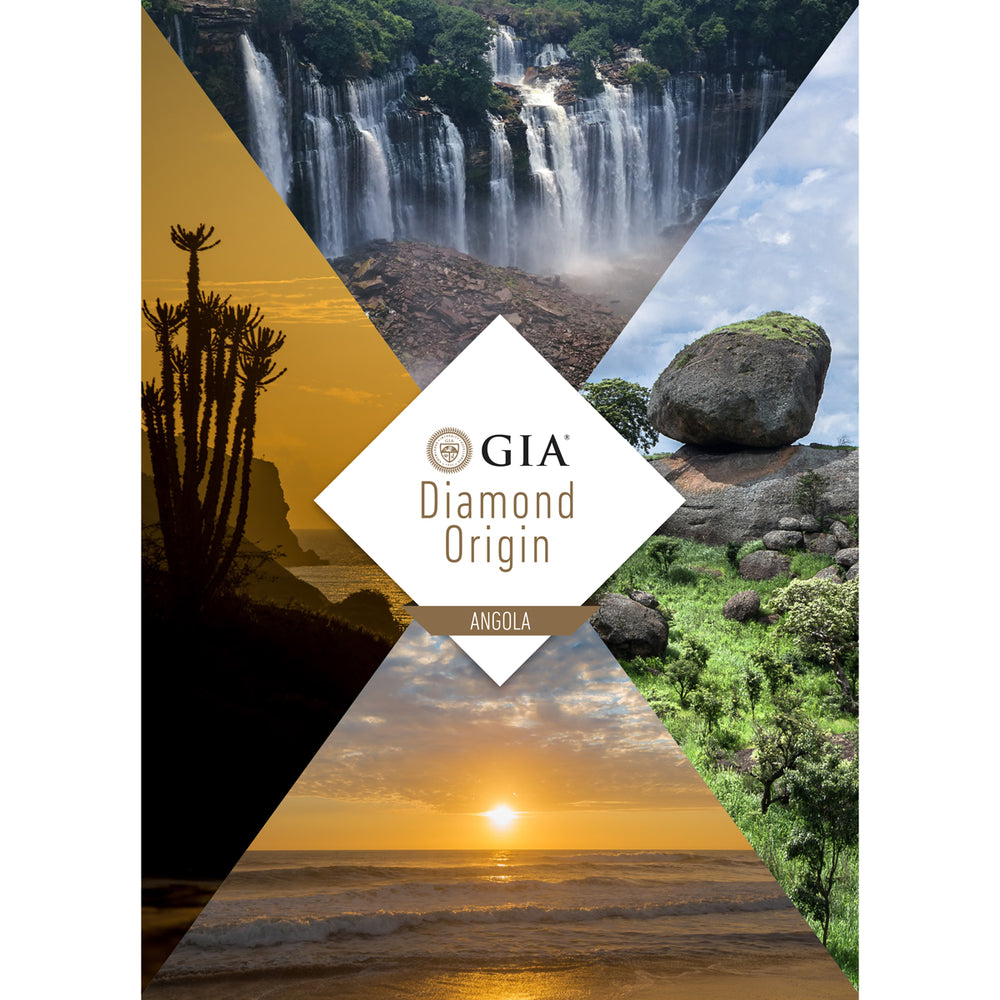 Diamond Origin Angola cover, featuring beautiful Angolan landscapes