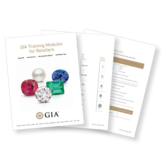 GIA Training Modules for Retailers