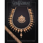 Cover of Gems & Gemology Spring 1998 issue, featuring elaborate gold jewelry