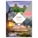 GIA Diamond Origin Report Botswana cover, featuring scenes from the Botswana wilderness