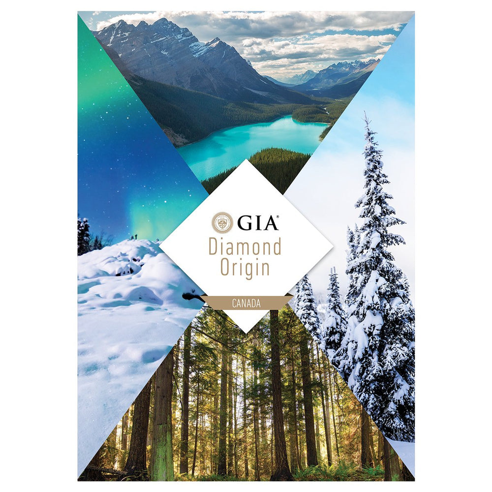GIA Diamond Origin report Canada, featuring scenes from the Canadian wilderness