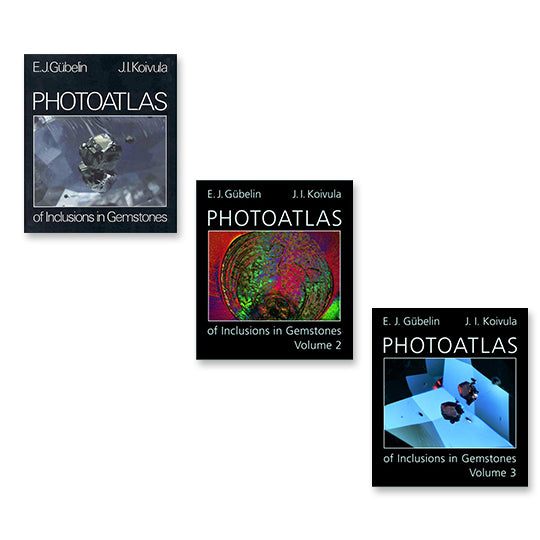 Photoatlas of Inclusions In Gemstones - Exclusive 3 Volume Set