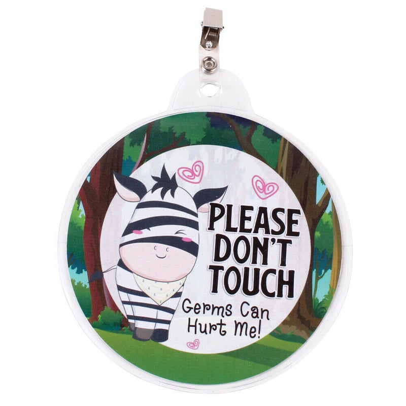 """Don't Touch"" Baby Safety Tag"