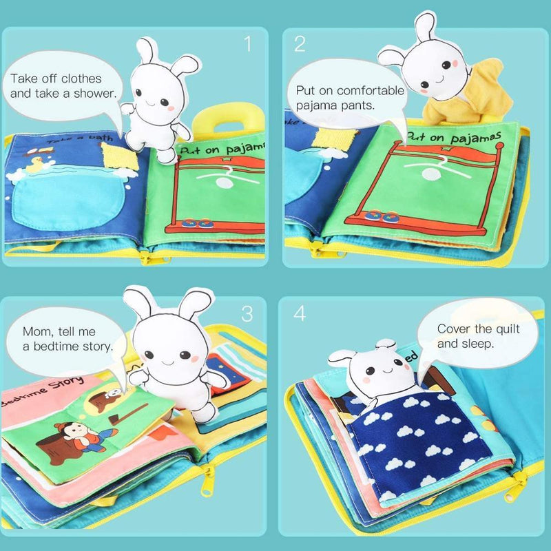 3D Baby Cloth Book