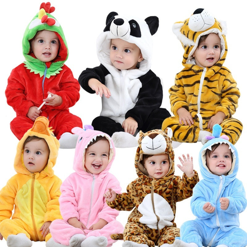 Animal Hooded Romper