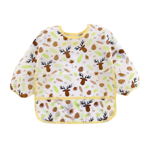 LONG SLEEVE BIB WITH POCKET