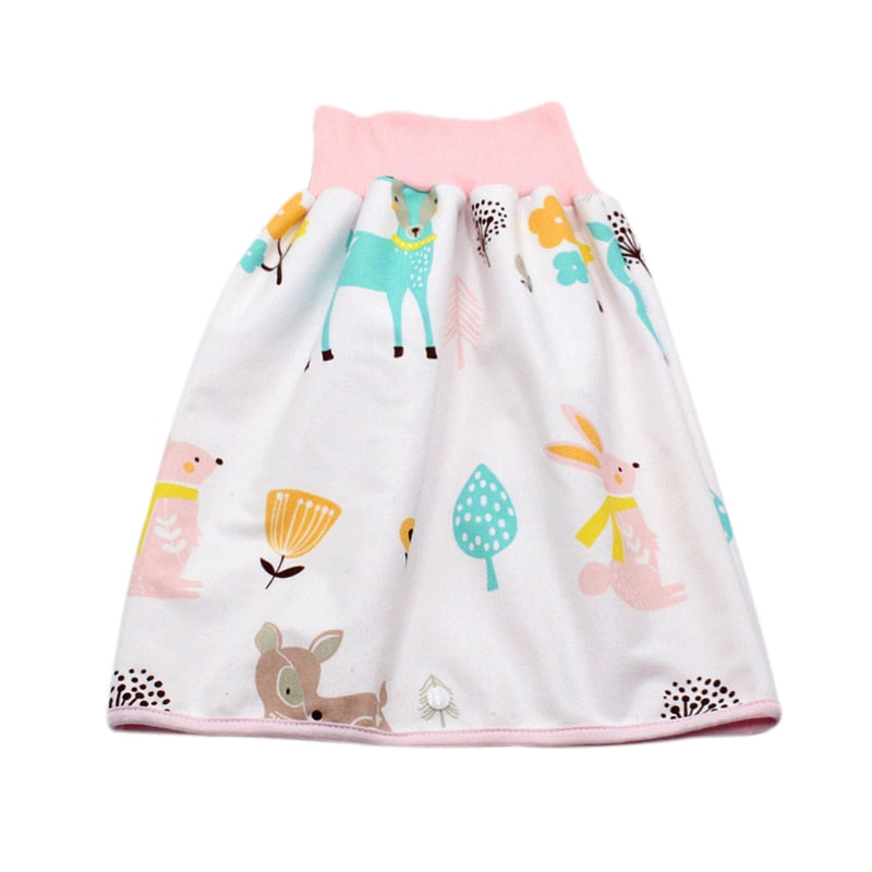 Infant Waterproof Potty Training Skirt Shorts