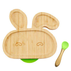 Wooden Baby Food Dishes Plate