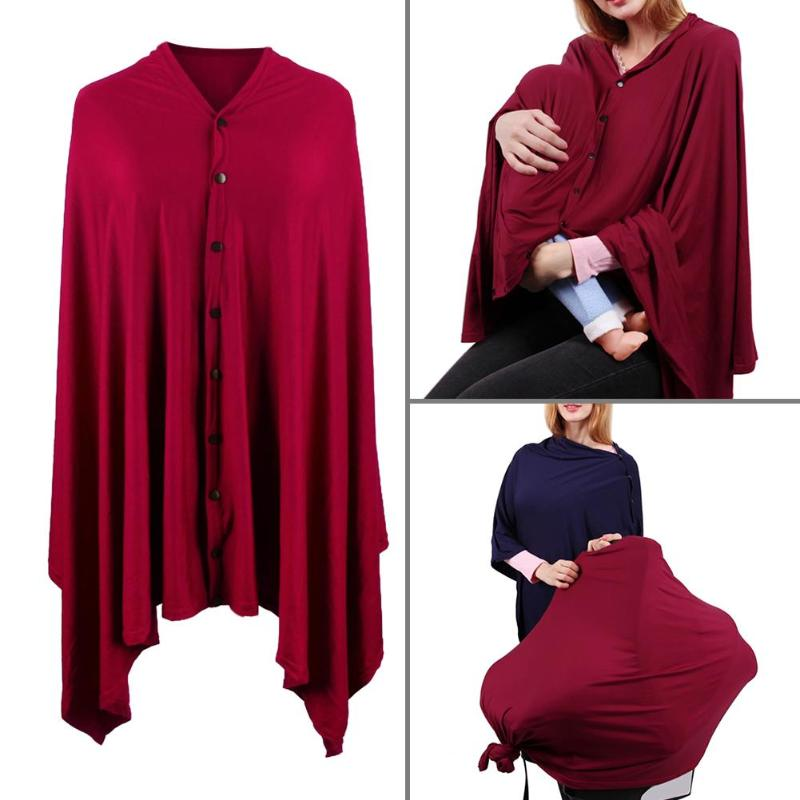 Multifunctional & Fashionable Soft Stretch Nursing Cover
