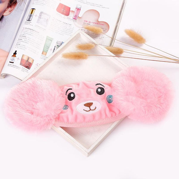 Children Winter Mask EarMuffs