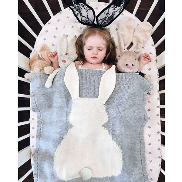 Sweet Cotton Bunny Blanket