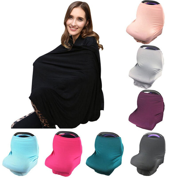 Multi-Use Stretchy Scarf Breastfeeding Cover