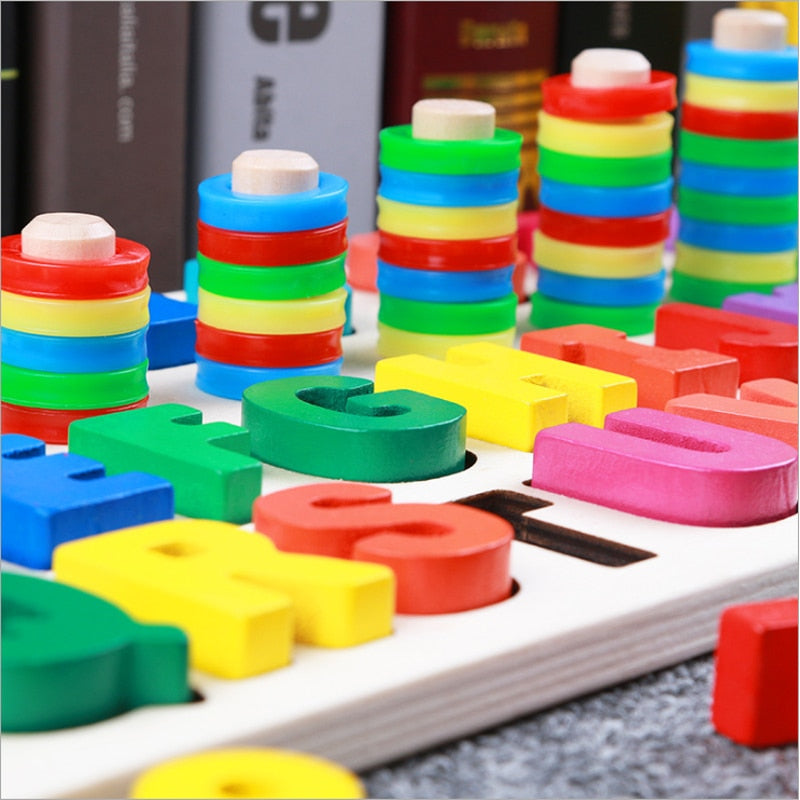 Preschool Wooden Montessori Toys