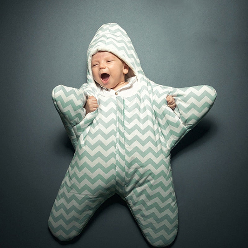 BABY SLEEPING BAG STARFISH