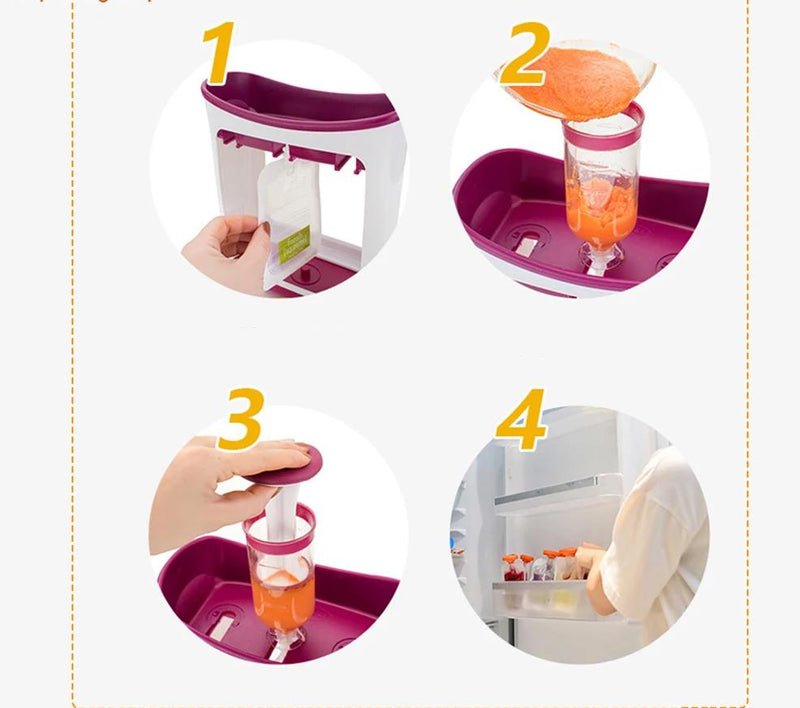 Baby Food Maker Squeeze Food Station