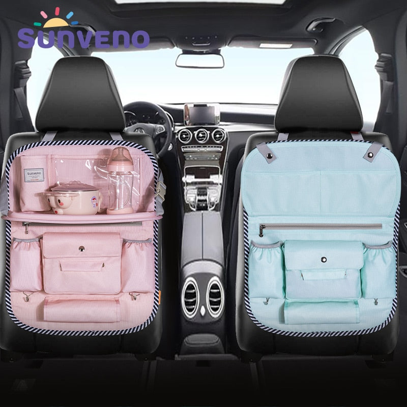 Car Seat Back Storage Bag Organizer