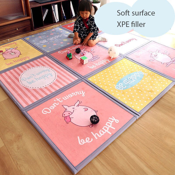 Jigsaw Puzzle Padded Floor Mat