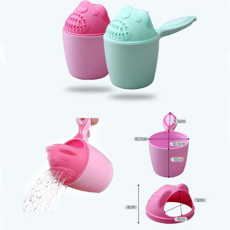 CUTE BABY BATH CAPS TODDLER SHAMPOO CUP