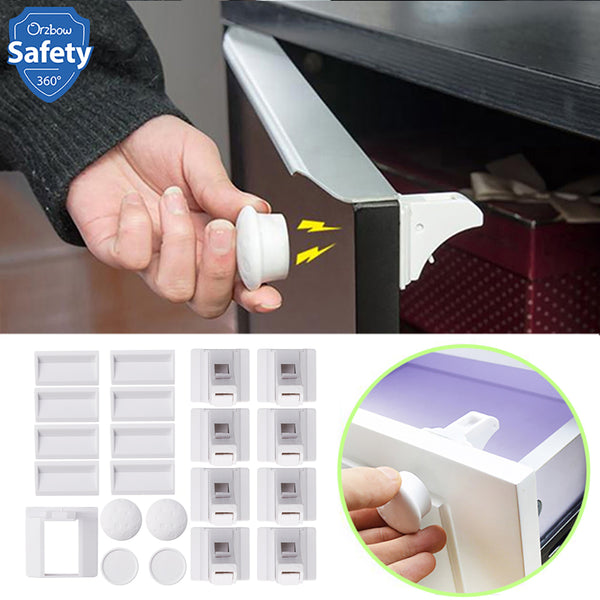 Magnetic Child Lock Baby Safety Cabinet Drawer Door Lock
