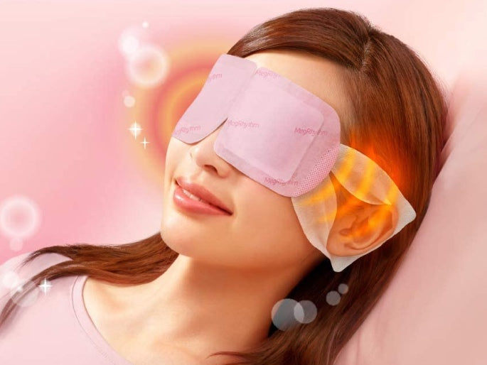 Kao Steam Warm Eye Mask Rose 12 Sheets(Red)