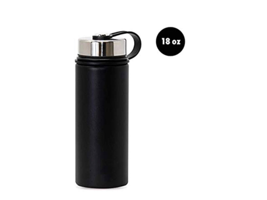 18 Oz Stainless Steel Water Bottle