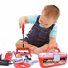 36 Pieces Kids Tool Set, Tool Box for Boys and Toddlers - Pilemart