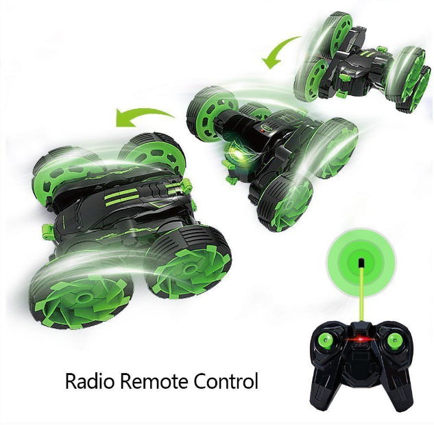 Remote Control Car 4Wd Rc Cars Rotate 360 Double Sided Race Rc Car - Pilemart