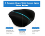 Memory Foam Seat Cushion Orthopedic Tailbone Pillow for Office,Home, Car Driving, Sciatica Back Coccyx Pain Relief (Back Cushion) - Pilemart