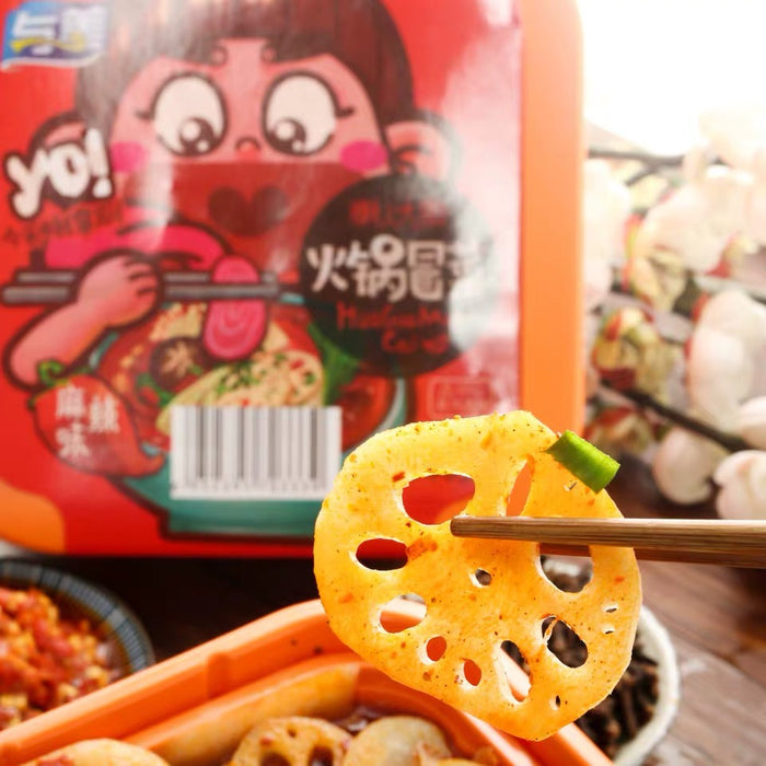 YUMEI Self-heating Instant Hotpot Spicy Hot 425g