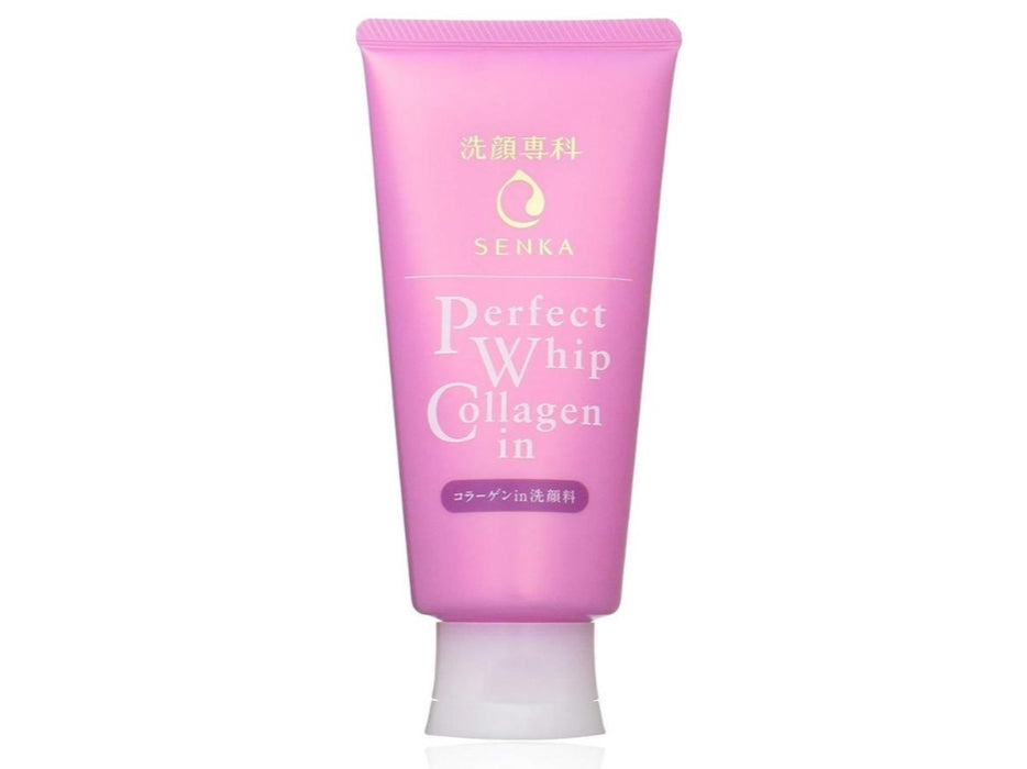 Shiseido Senka Perfect Whip Collagen Cleanser 120g