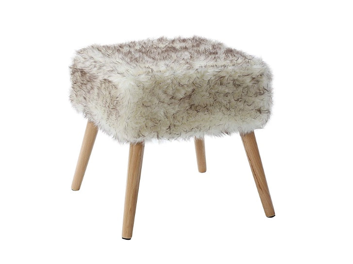 "17"" Square Foot Stool (Pick up Only)"
