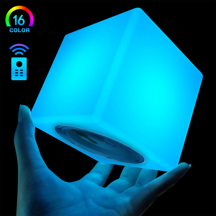 Hanging Mood Lamp w/Remote16 RGB Color Changing