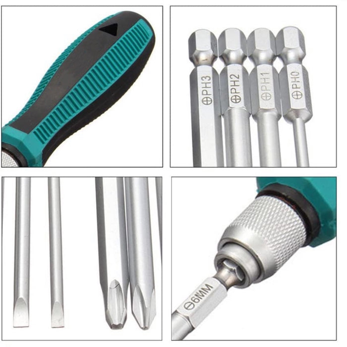 9 in 1 Magnetic Screwdriver Set
