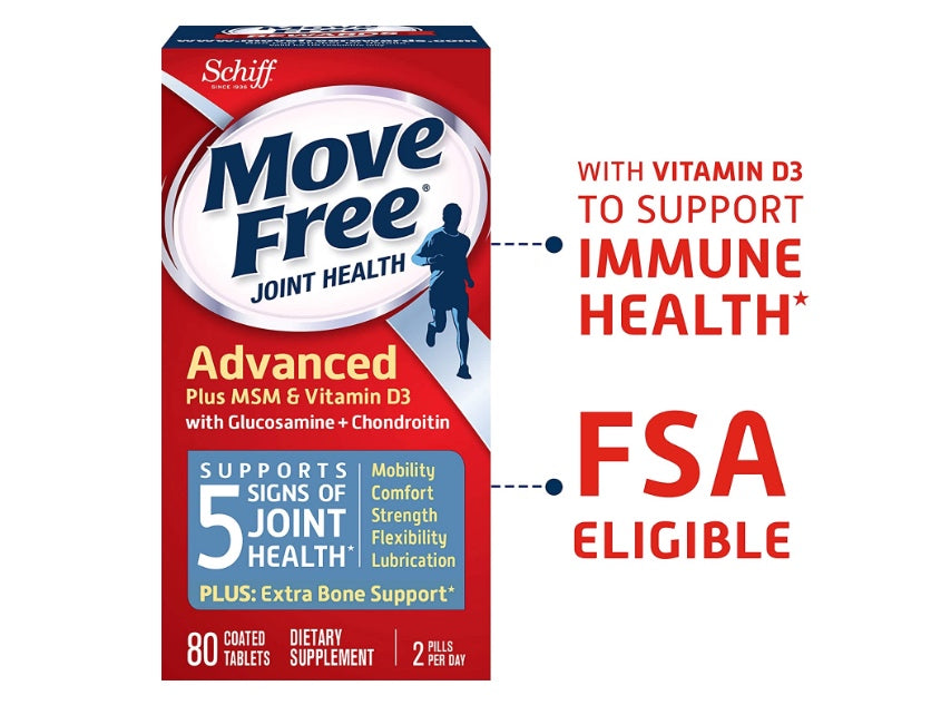 Move Free Joint Supplement 80 Count