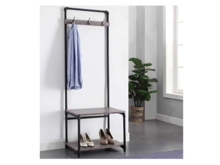 Industrial Pipe Entryway Storage Organizer ( Pick up only)