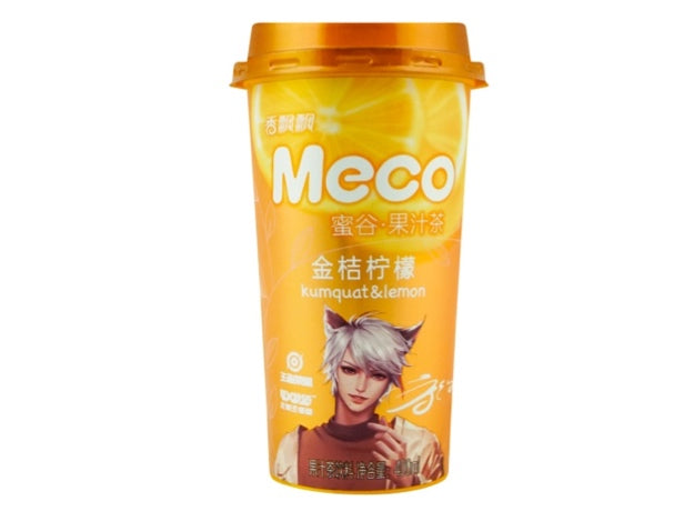 Meco Kumquat & Lemon Tea 400ml