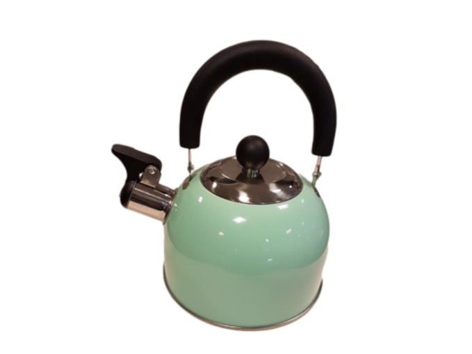 1.6L Stove Top Whistling Tea Kettle (Green)