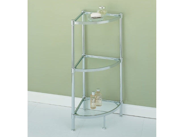 3 Tier Tempered Glass Storage Tower ( Pick up only)