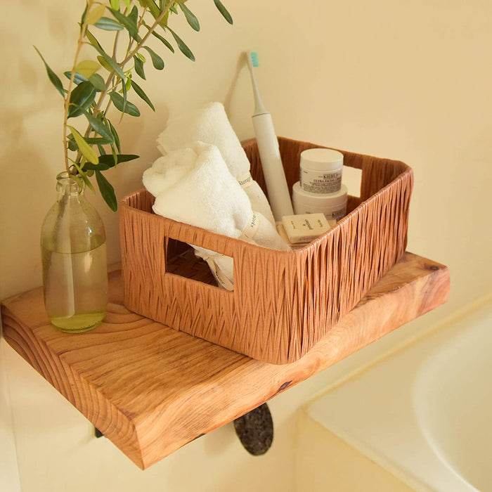 2 Pack Handwoven Decorative Baskets