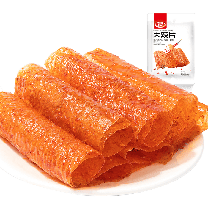 WEILONG Beancurd Sheet Hot Flavor 230g