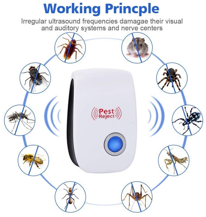 Ultrasonic Pest Repeller 6 Pack