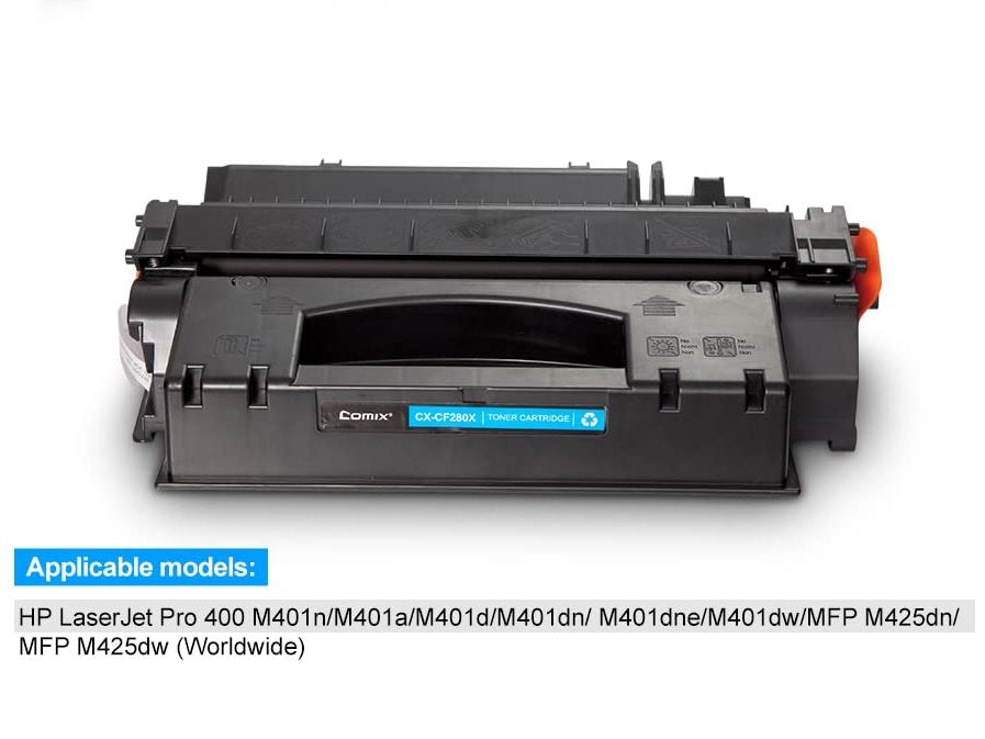 Toner Cartridge Replacement FOR HP (CX-CF280X )